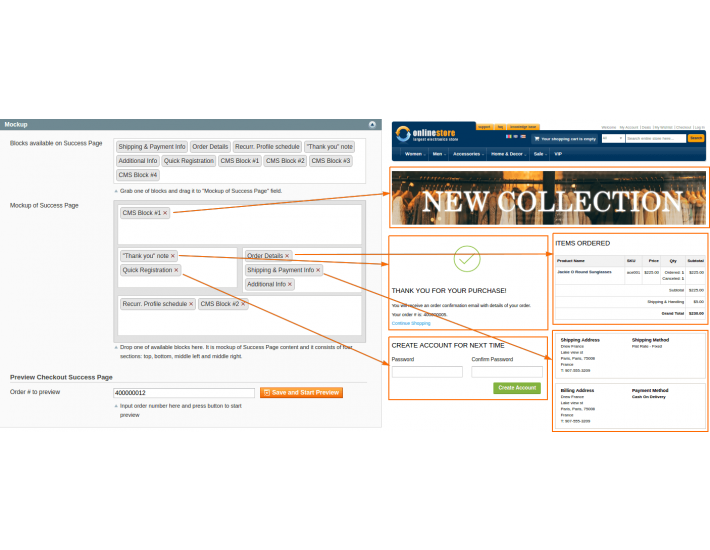 Magento One Page Checkout - Fire Checkout 4 3