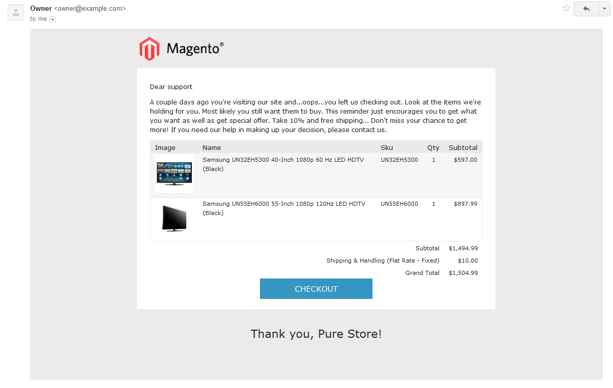 Making Email Templates Kleobeachfixco - Magento newsletter templates
