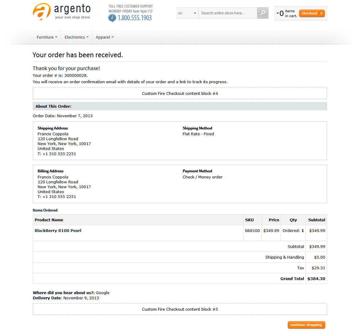 Magento One Page Step Checkout Extension With Responsive Design