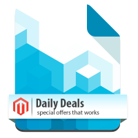 Daily Deals extension for Magento