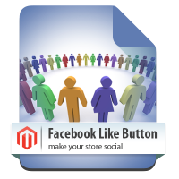 Magento Facebook Like Button magento module