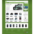 Magento Absolute template green