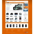 Magento Absolute template orange