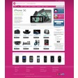 Magento Absolute template purple