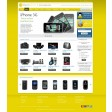Magento Absolute template yellow
