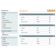Magento navigation extension settings