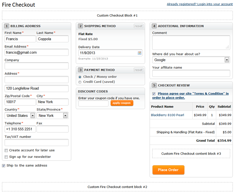 Firecheckout User Manual Templates Master - Create your own invoices fire store online