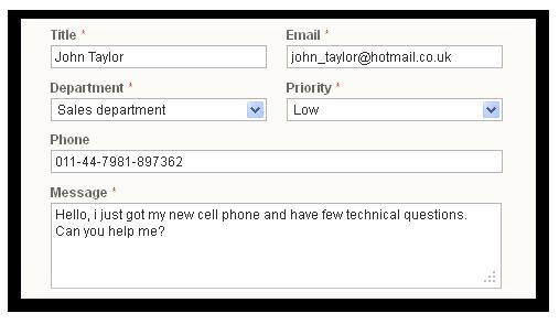 my black 011 customer service number