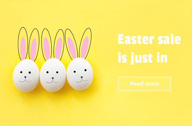 Easter sale is just in