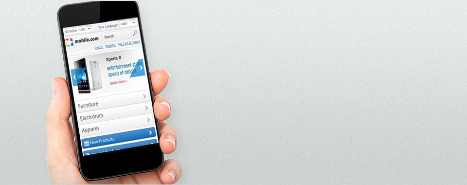 Magento Mobile Theme 1.4