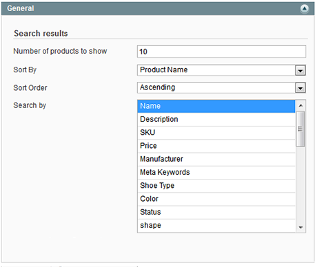 Magento search suggest